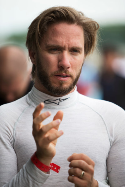 FIA Formula E Test Day, Donington Park, UK.  3rd - 4th July 2014.  Nick Heidfeld, Venturi Grand Prix. Photo: Malcolm Griffiths/FIA Formula E ref: Digital Image F80P6615