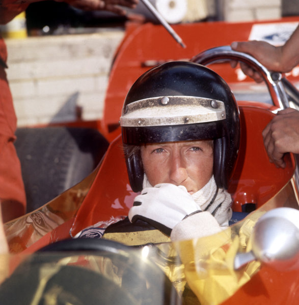 Zandvoort, Holland.19-21 June 1970.Jochen Rindt (Lotus 72C-Ford) 1st position, portrait. Ref-R1A 07.World Copyright - LAT Photographic