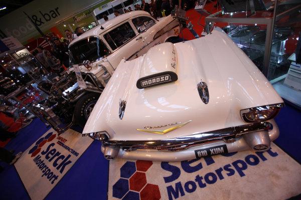 Autosport International Show NEC, Birmingham.  Sunday 12 January 2014. 1957 Chevrolet. World Copyright:Sam Bloxham/LAT Photographic ref: Digital Image IMG_8305