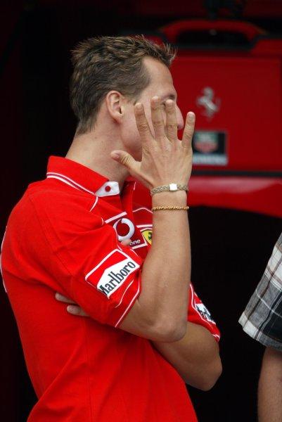 2002 Canadian Grand Prix - PracticeMontreal, Canada. 7th June 2002.Michael Schumacher.World Copyright: Steve Etherington/LATref: Digital Image Only
