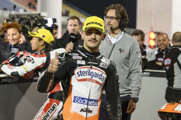 Pole sitter Aron Canet, Max Racing Team.