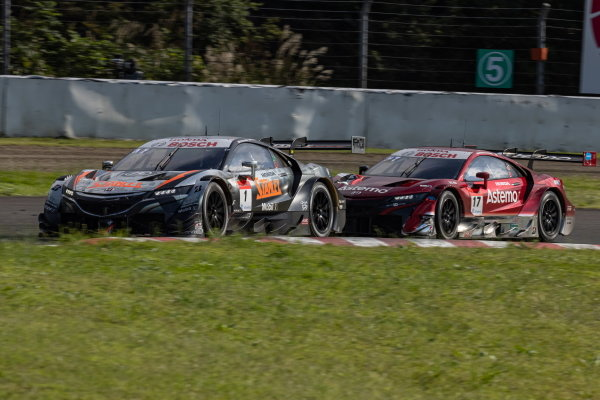 Naoki Yamamoto & Tadasuke Makino, Stanley Team Kunimitsu, Honda NSX-GT, 2nd in GT500