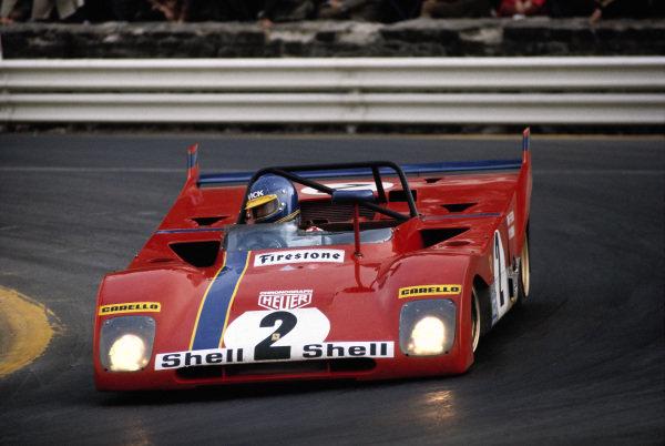 Tim Schenken / Ronnie Peterson, Spa Ferrari SEFAC, Ferrari 312 PB 0894.