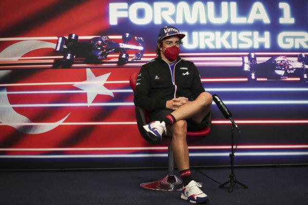 Fernando Alonso, Alpine F1 press conference