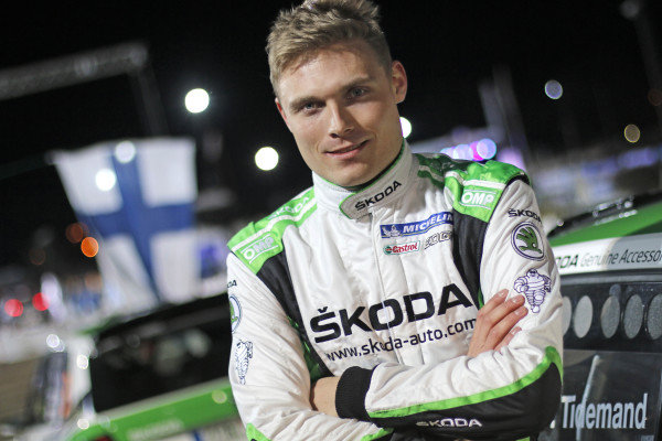 Pontus Tidemand (SWE), Skoda Motorsport WRC2  at World Rally Championship, Rd2, Rally Sweden, Preparations, Karlstad, Sweden, 11 February 2016.