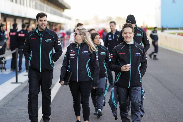 Sacha Fenestraz (ARG), Rookie Test Driver for Panasonic Jaguar Racing
