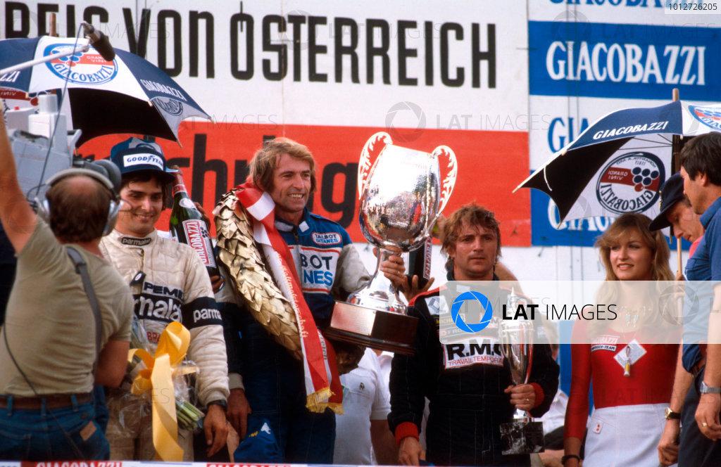 1981 Austrian Grand Prix.
