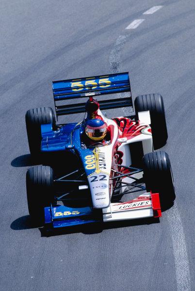 1999 Monaco Grand Prix.Monte Carlo, Monaco. 13-16 April 1999.Jacques Villeneuve (B.A R. 001 Honda).Ref-99 MON 99.World Copyright - Charles Coates/LAT Photographic