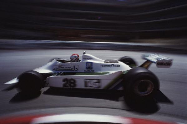 Clay Regazzoni, Williams FW07 Ford.