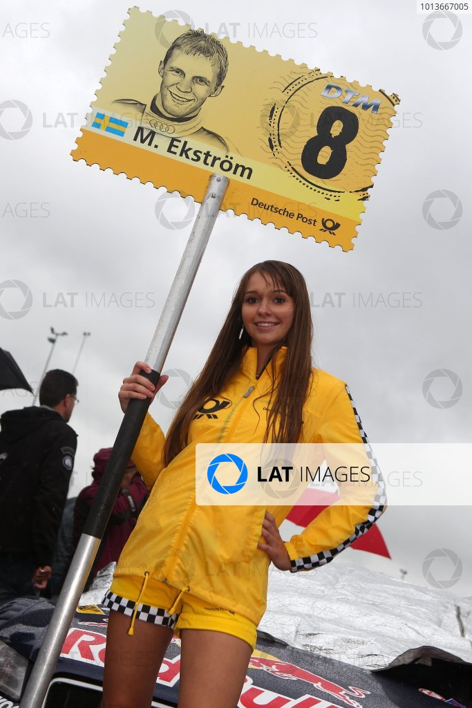 DTM grid girl.