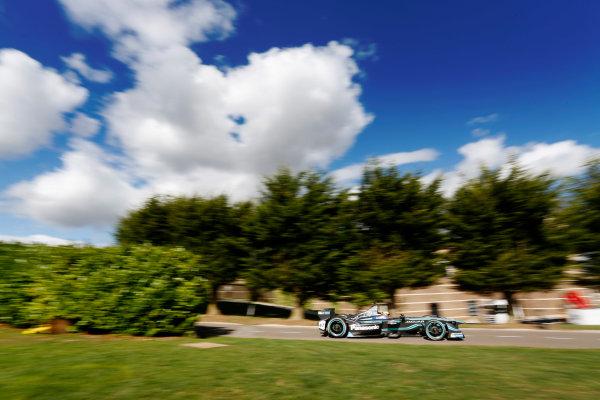 Jaguar Racing Official Formula E Launch Jaguar Heritage Collections Centre, Gaydon, UK Thursday 8 September 2016 Ho-Pin Tung drives the new Jaguar Racing Formula E car. World Copyright: Andrew Ferraro/LAT Photographic ref: Digital Image _14P5070