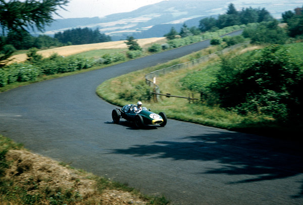 1957 German Grand Prix F2 Class.