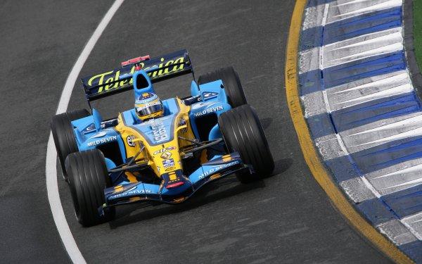 2006 Australian Grand Prix - Saturday Qualifying, Albert Park, Melbourne. Australia. Fernando Alonso, Renault R26, action. 1st April 2006  World Copyright: Steve Etherington/LAT Photographic ref: 48mb Hi Res Digital Image Only