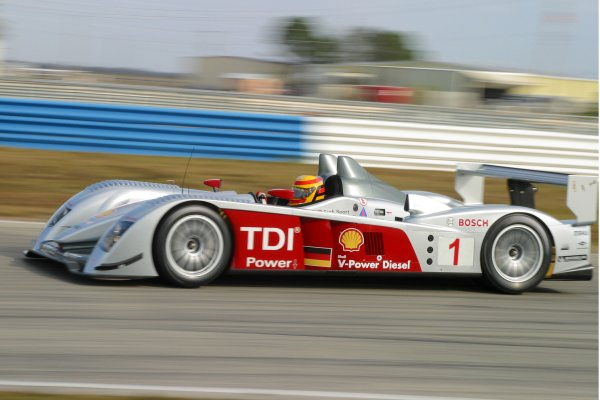 JANUARY 23-25, 2006, SEBRING INTERNATIONAL RACEWAY FRANK BIELA AUDI R10 