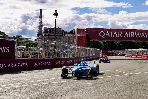 2016/2017 FIA Formula E Championship. Qatar Airways Paris ePrix, France. Saturday 20 May 2017. Sebastien Buemi (SUI), Renault e.Dams, Spark-Renault, Renault Z.E 16. Photo: Steven Tee/LAT/FIA Formula E ref: Digital Image _R3I4535