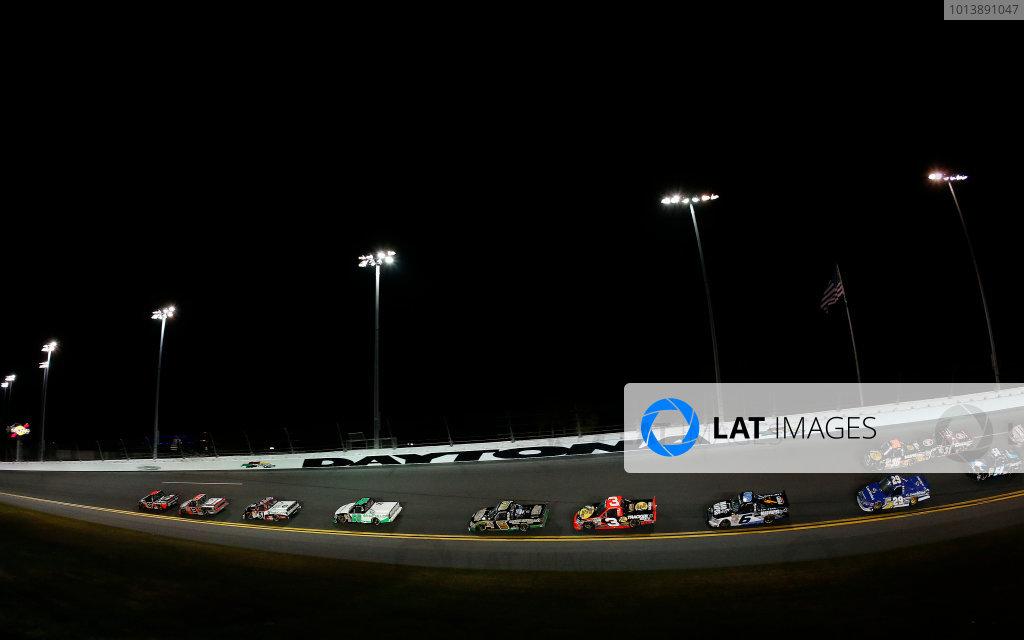 21-23 February, 2013, Daytona Beach, Florida, USA Subject:  Johnny Sauter leads.(c) 2013, Michael L. Levitt LAT Photo USA