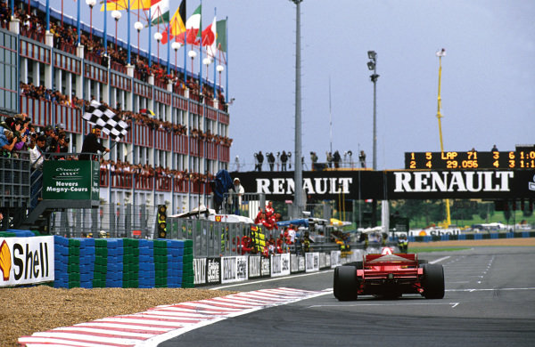 Magny-Cours, France.