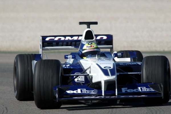 Ralf Schumacher (GER) Williams FW24.