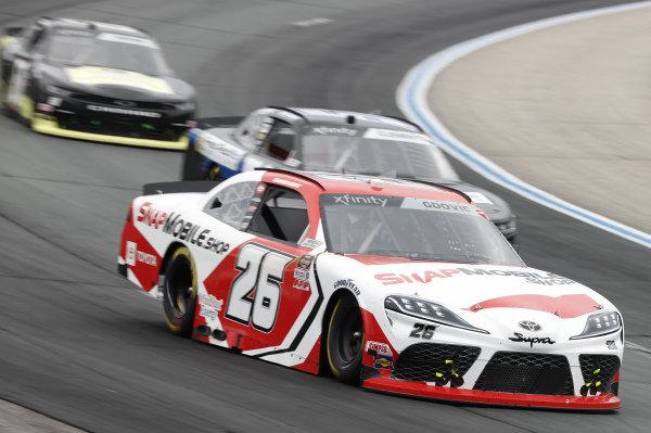 #26: Brandon Gdovic, Sam Hunt Racing, Toyota Supra SnapMobile.com