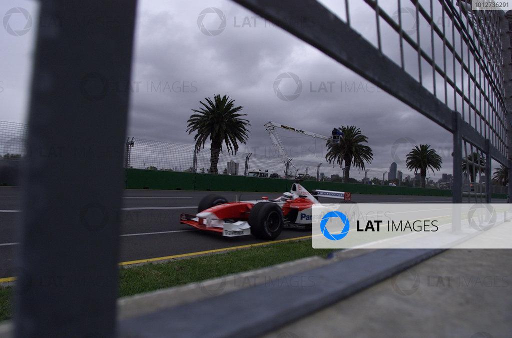 2002 Qantas Australian Grand Prix - Qualifying Photo