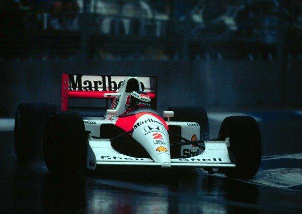 1991 Australian Grand Prix.Adelaide, Australia.3 November 1991.Gerhard Berger (McLaren MP4/6 Honda) 3rd position.World Copyright - LAT Photographic