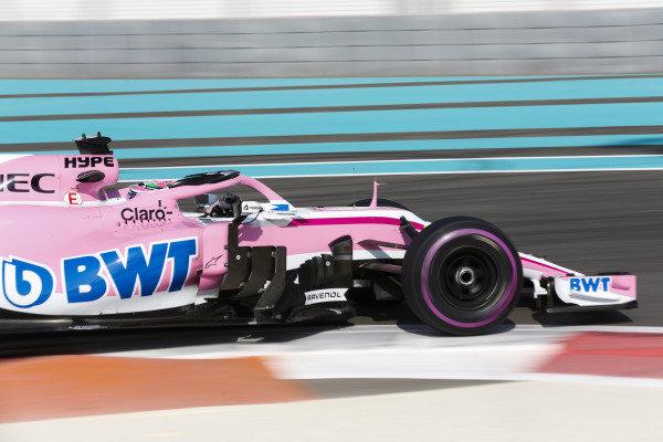 Sergio Perez, Force India VJM11 Mercedes.