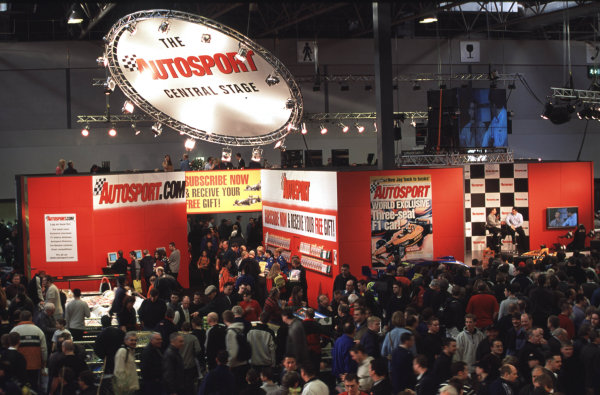 2001 Autosport International Show. NEC, Birmingham, England. 11th - 14th January 2001. World Copyright - Dixon / LAT Photographic ref: 01show07