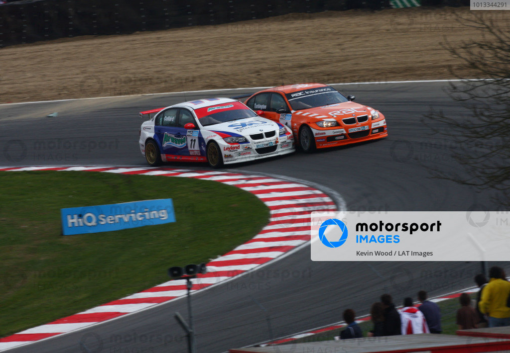 Brands Hatch, UK. 5th April 2009. Rds 1,2,3. 
