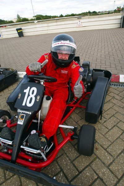 Paul Sutton (GBR) Sutton Motorsport Images alarmed all those on the same track as him as he took thirteenth position.  
