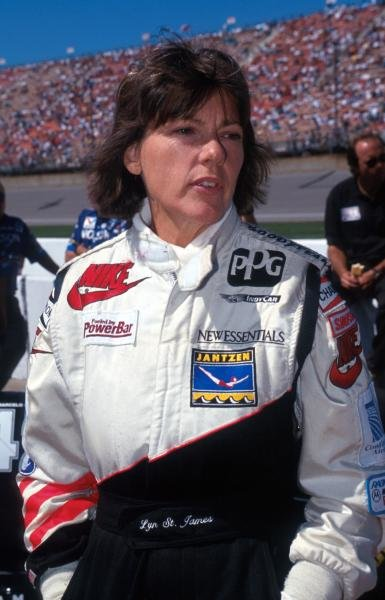 Lyn St James (USA) failed to finish in the top ten.PPG Indycar World Series, Marlboro 500, Michigan International Speedway,  1 August 1993.
