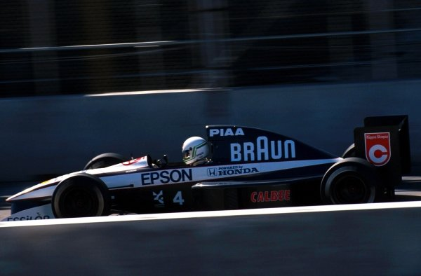 Stefano Modena (ITA) Tyrrell 020, 4th place.