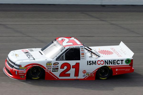 #21: Johnny Sauter, GMS Racing, Chevrolet Silverado ISM Connect