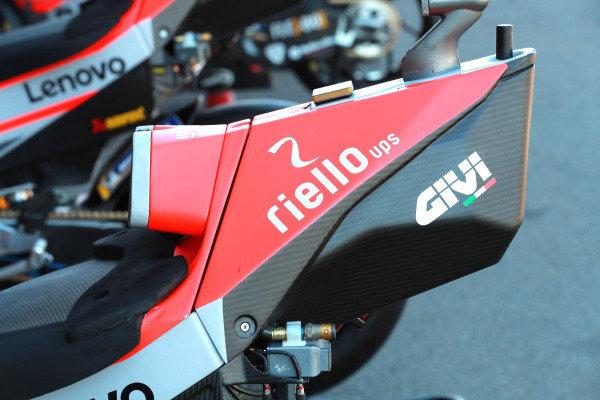 Bike of Jorge Lorenzo, Ducati Team.