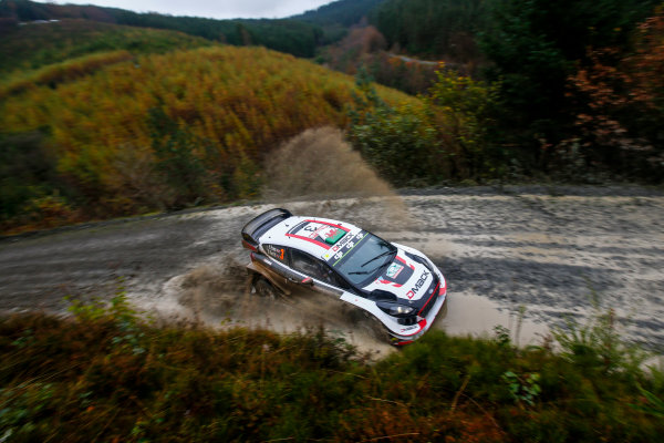 2017 FIA World Rally Championship, Round 12, Wales Rally GB, 26-29 October, 2017, Elfyn Evans, Ford, action, Worldwide Copyright: LAT/McKlein