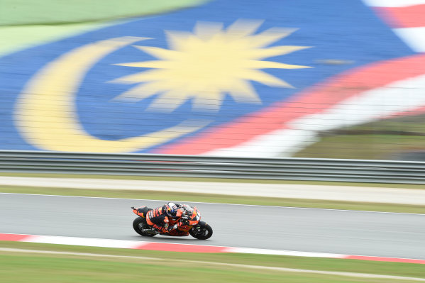 2017 Moto2 Championship - Round 17 Sepang, Malaysia. Friday 27 October 2017 Miguel Oliveira, Red Bull KTM Ajo World Copyright: Gold and Goose / LAT Images ref: Digital Image 25430
