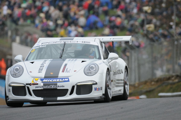 2014 Porsche Carrera Cup Great Britain,Brands Hatch, 29th-30th March 2014, Ben Barker (GBR) Parr PorscheWorld copyright. Jakob Ebrey/LAT Photographic