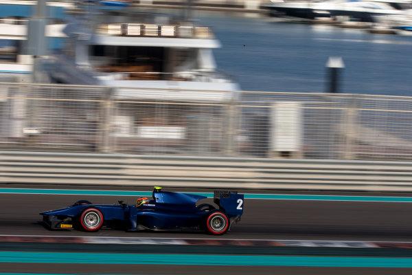 2014 GP2 Series Test 1  Yas Marina Circuit, Abu Dhabi, UAE.  Wednesday 12 March 2014. Artem Markelov (RUS) RT Russian Time  Photo: Malcolm Griffiths/GP2 Series Media Service ref: Digital Image F80P5053