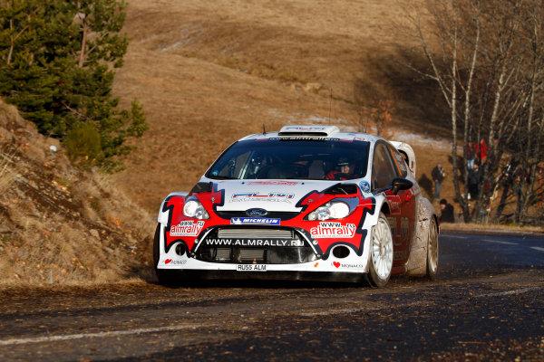 Round 01-Rally Monte Carlo 17-22 January 2012. Evgenly, Novikov, Ford WRC, ActionWorldwide Copyright: McKlein/LAT
