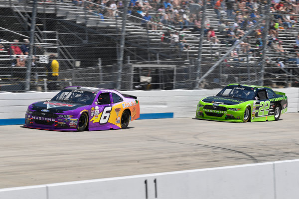 NASCAR XFINITY Series One Main Financial 200 Dover International Speedway, Dover, DE USA Saturday 3 June 2017 Darrell Wallace Jr, Disney Pixar Cars 3 Ford Mustang, Ryan Blaney, Fitzgerald Ford Mustang World Copyright: Logan Whitton LAT Images ref: Digital Image 17DOV1LW3080