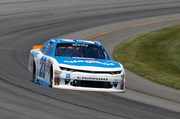 NASCAR XFINITY Series Pocono Green 250 Pocono Raceway, Long Pond, PA USA Friday 9 June 2017 Spencer Gallagher, Allegiant Airlines Chevrolet Camaro World Copyright: Matthew T. Thacker LAT Images ref: Digital Image 17POC1mt1176