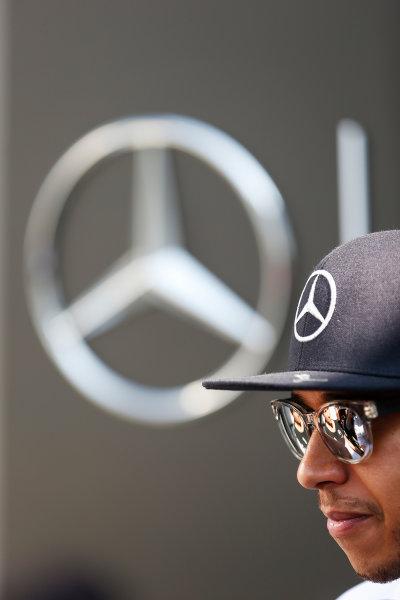Sepang International Circuit, Sepang, Kuala Lumpur, Malaysia. Thursday 26 March 2015. Lewis Hamilton, Mercedes AMG. World Copyright: Charles Coates/LAT Photographic. ref: Digital Image _N7T2331