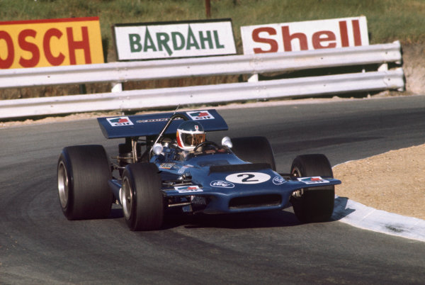 "Kyalami, South Africa. .5-7 March 1970.  Georges ""Johnny"" Servoz-Gavin (Tyrrell Racing/March 701 Ford).  Ref: 70 SA 08. World Copyright: LAT Photographic"
