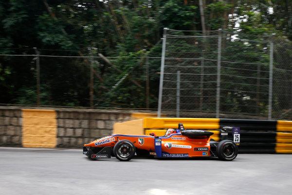2015 Macau Formula 3 Grand Prix Circuit de Guia, Macau, China 18th - 22nd November 2015 Mikkel Jensen (DEN) KFZ-Teile 24 M?cke Motorsport Dallara Mercedes World Copyright: XPB Images/LAT Photographic ref: Digital Image 2015-Macau-F3-AT1-0593