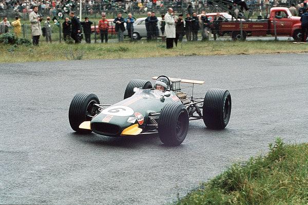Zandvoort, Holland.21-23 June 1968.Jochen Rindt (Brabham BT26 Repco).Ref-35mm 68 HOL 13.World Copyright - LAT Photographic