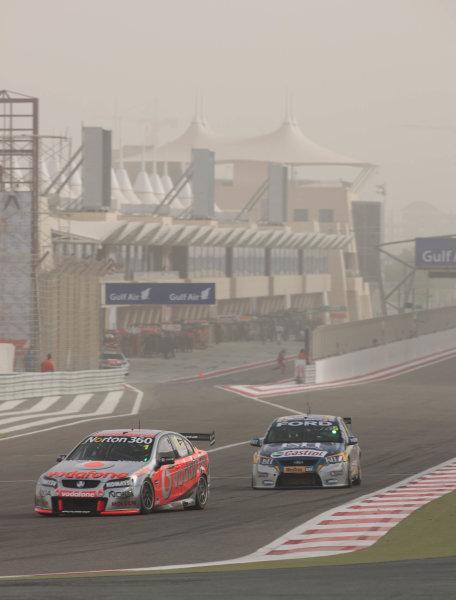 Round 2 - Gulf Air Desert 400Bahrain International Circuit, Sakhir, Bahrain.24th - 27th Febraury 2010.Jamie Whincup of Triple Eight Racing wins race 4.World Copyright: Mark Horsburgh/LAT Photographicref: Digital Image 1-Whincup-EV02-11068