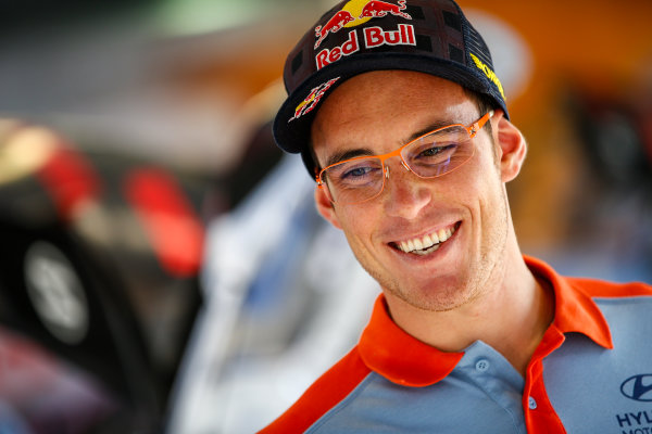 2017 FIA World Rally Championship, Round 10, Rallye Deutschland, 17-20 August, 2017, Thierry Neuville, Hyundai, portrait, Worldwide Copyright: McKlein/LAT