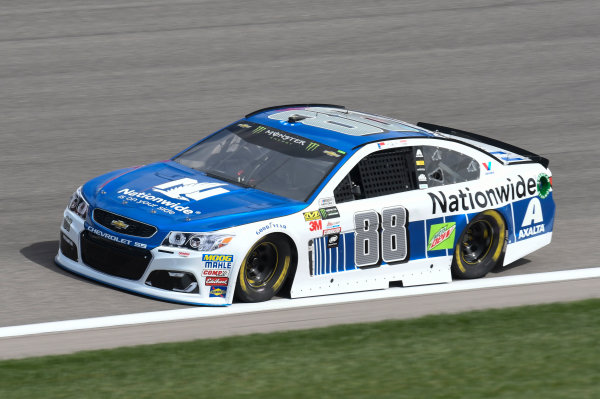Monster Energy NASCAR Cup Series Hollywood Casino 400 Kansas Speedway, Kansas City, KS USA Friday 20 October 2017 Dale Earnhardt Jr, Hendrick Motorsports, Nationwide Chevrolet SS World Copyright: John K Harrelson LAT Images