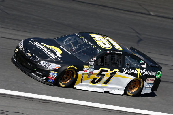 Monster Energy NASCAR Cup Series Bank of America 500 Charlotte Motor Speedway, Concord, NC Friday 6 October 2017 BJ McLeod, Rick Ware Racing, Chevrolet SS World Copyright: Matthew T. Thacker LAT Images