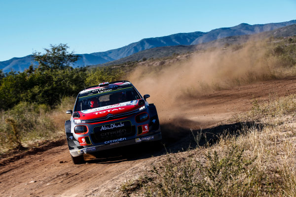 2017 FIA World Rally Championship, Round 05, Rally Argentina, April 27-30, 2017, Kris Meeke, Citroen, Action, Worldwide Copyright: McKlein/LAT