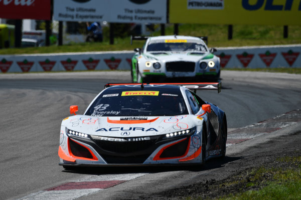 Pirelli World Challenge Victoria Day SpeedFest Weekend Canadian Tire Motorsport Park, Mosport, ON CAN Saturday 20 May 2017 Ryan Eversley/ Tom Dyer World Copyright: Richard Dole/LAT Images ref: Digital Image RD_CTMP_PWC17082
